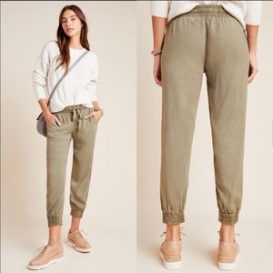 Cloth & Stone 100% Linen Joggers